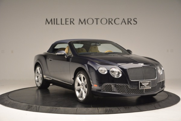 Used 2012 Bentley Continental GTC for sale Sold at Bentley Greenwich in Greenwich CT 06830 24