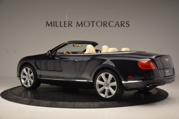 Used 2012 Bentley Continental GTC for sale Sold at Bentley Greenwich in Greenwich CT 06830 4