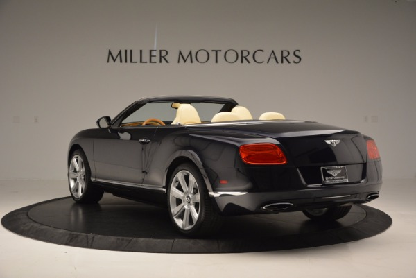 Used 2012 Bentley Continental GTC for sale Sold at Bentley Greenwich in Greenwich CT 06830 5