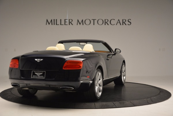 Used 2012 Bentley Continental GTC for sale Sold at Bentley Greenwich in Greenwich CT 06830 7
