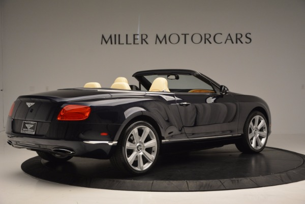 Used 2012 Bentley Continental GTC for sale Sold at Bentley Greenwich in Greenwich CT 06830 8