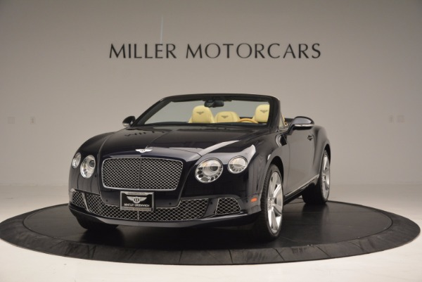 Used 2012 Bentley Continental GTC for sale Sold at Bentley Greenwich in Greenwich CT 06830 1