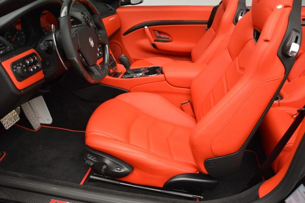 New 2016 Maserati GranTurismo Convertible MC for sale Sold at Bentley Greenwich in Greenwich CT 06830 21