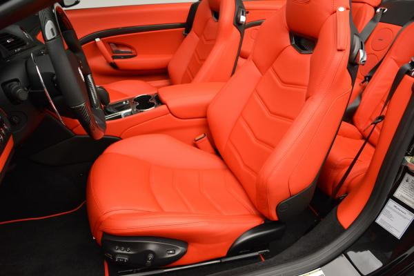 New 2016 Maserati GranTurismo Convertible MC for sale Sold at Bentley Greenwich in Greenwich CT 06830 22