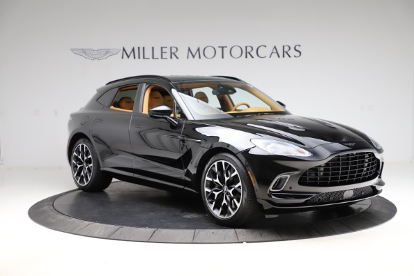 New 2021 Aston Martin DBX for sale $211,986 at Bentley Greenwich in Greenwich CT 06830 10