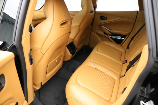 New 2021 Aston Martin DBX for sale $211,986 at Bentley Greenwich in Greenwich CT 06830 18