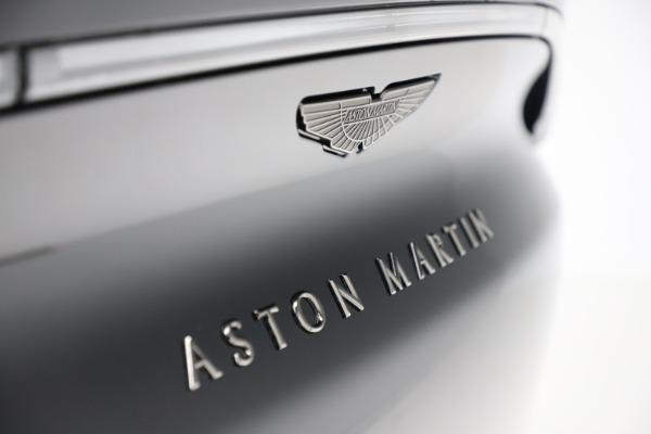 New 2020 Aston Martin DBX SUV for sale Call for price at Bentley Greenwich in Greenwich CT 06830 27