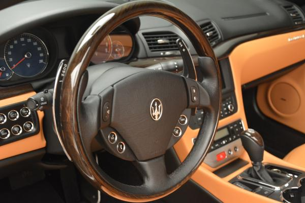 Used 2012 Maserati GranTurismo for sale Sold at Bentley Greenwich in Greenwich CT 06830 24