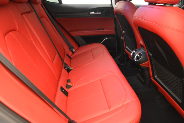 New 2018 Alfa Romeo Stelvio Q4 for sale Sold at Bentley Greenwich in Greenwich CT 06830 23