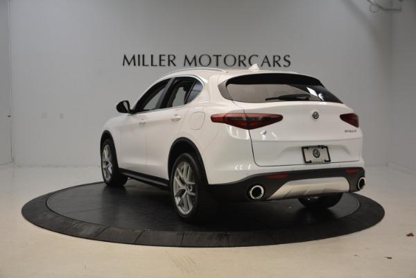 New 2018 Alfa Romeo Stelvio Q4 for sale Sold at Bentley Greenwich in Greenwich CT 06830 5