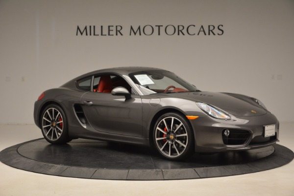 Used 2014 Porsche Cayman S S for sale Sold at Bentley Greenwich in Greenwich CT 06830 10