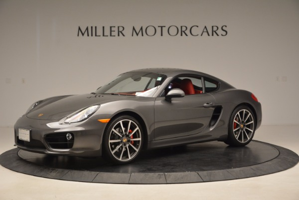 Used 2014 Porsche Cayman S S for sale Sold at Bentley Greenwich in Greenwich CT 06830 2
