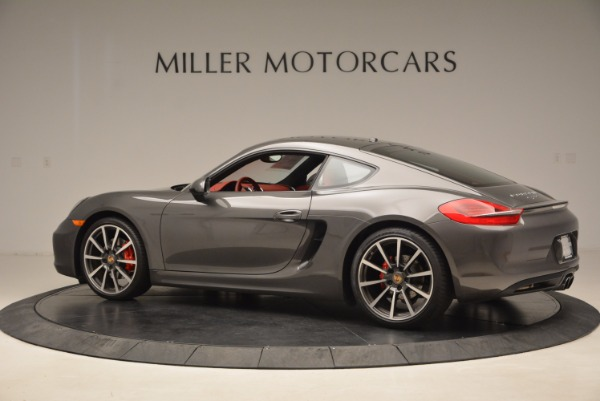 Used 2014 Porsche Cayman S S for sale Sold at Bentley Greenwich in Greenwich CT 06830 4