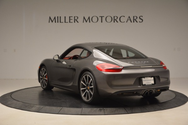 Used 2014 Porsche Cayman S S for sale Sold at Bentley Greenwich in Greenwich CT 06830 5