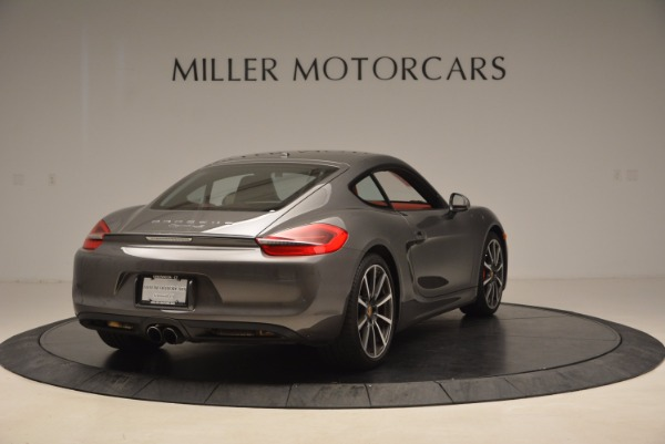 Used 2014 Porsche Cayman S S for sale Sold at Bentley Greenwich in Greenwich CT 06830 7