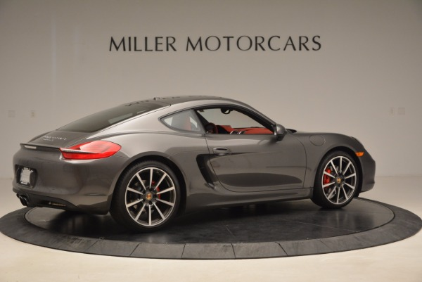 Used 2014 Porsche Cayman S S for sale Sold at Bentley Greenwich in Greenwich CT 06830 8
