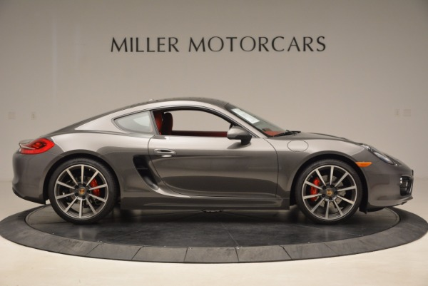 Used 2014 Porsche Cayman S S for sale Sold at Bentley Greenwich in Greenwich CT 06830 9