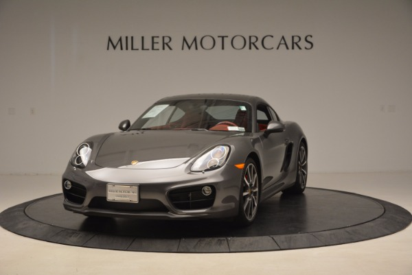 Used 2014 Porsche Cayman S S for sale Sold at Bentley Greenwich in Greenwich CT 06830 1