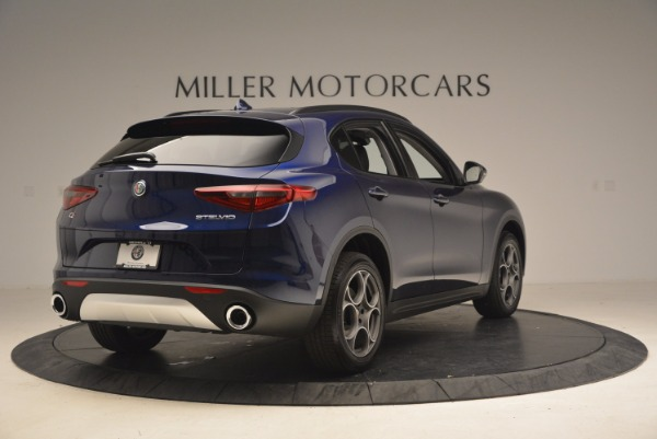 New 2018 Alfa Romeo Stelvio Sport Q4 for sale Sold at Bentley Greenwich in Greenwich CT 06830 7