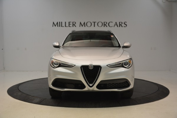 New 2018 Alfa Romeo Stelvio Q4 for sale Sold at Bentley Greenwich in Greenwich CT 06830 2