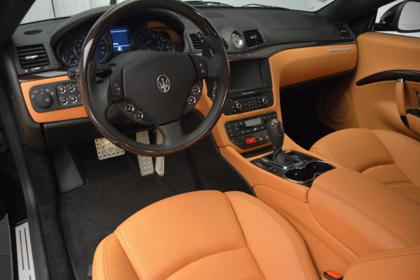 New 2016 Maserati GranTurismo Sport for sale Sold at Bentley Greenwich in Greenwich CT 06830 15