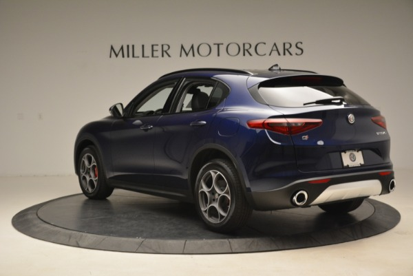 New 2018 Alfa Romeo Stelvio Sport Q4 for sale Sold at Bentley Greenwich in Greenwich CT 06830 5