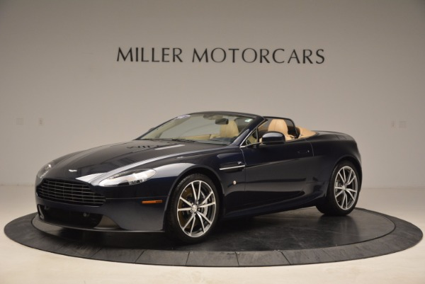 Used 2014 Aston Martin V8 Vantage Roadster for sale Sold at Bentley Greenwich in Greenwich CT 06830 2