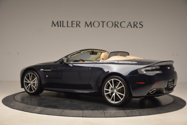 Used 2014 Aston Martin V8 Vantage Roadster for sale Sold at Bentley Greenwich in Greenwich CT 06830 4