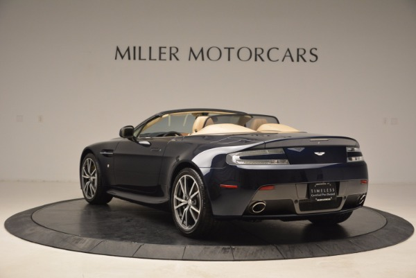 Used 2014 Aston Martin V8 Vantage Roadster for sale Sold at Bentley Greenwich in Greenwich CT 06830 5