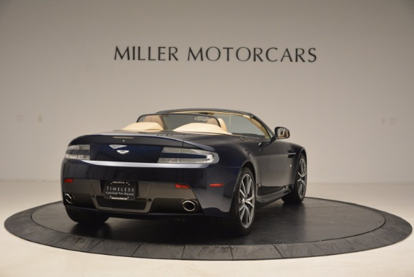 Used 2014 Aston Martin V8 Vantage Roadster for sale Sold at Bentley Greenwich in Greenwich CT 06830 7