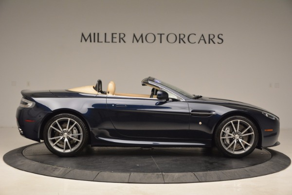 Used 2014 Aston Martin V8 Vantage Roadster for sale Sold at Bentley Greenwich in Greenwich CT 06830 9