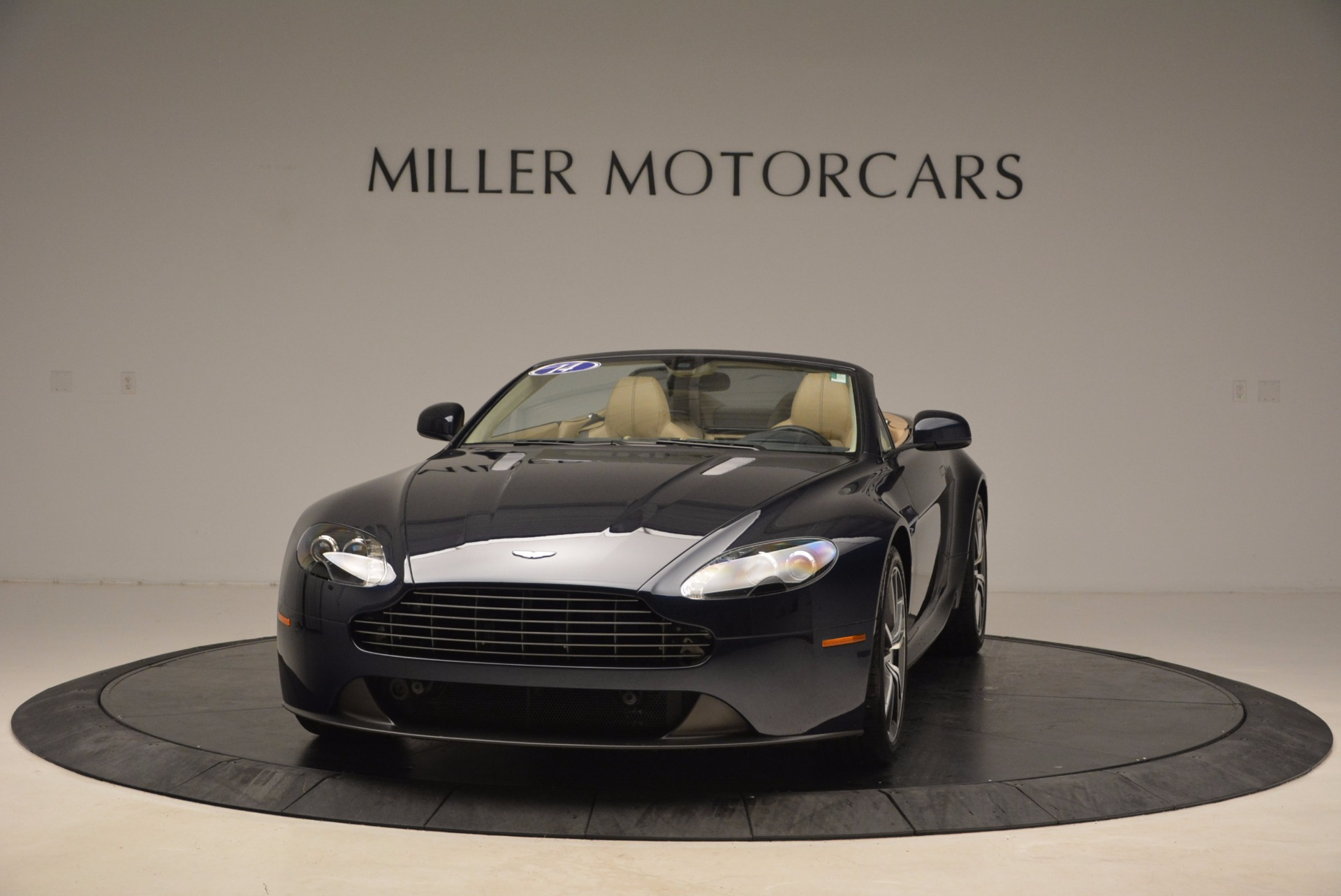 Used 2014 Aston Martin V8 Vantage Roadster for sale Sold at Bentley Greenwich in Greenwich CT 06830 1
