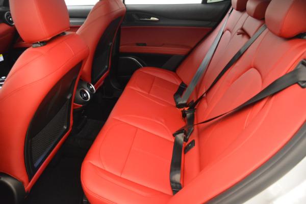 New 2018 Alfa Romeo Stelvio Q4 for sale Sold at Bentley Greenwich in Greenwich CT 06830 17