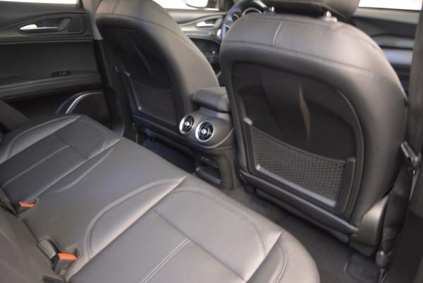 New 2018 Alfa Romeo Stelvio Q4 for sale Sold at Bentley Greenwich in Greenwich CT 06830 22