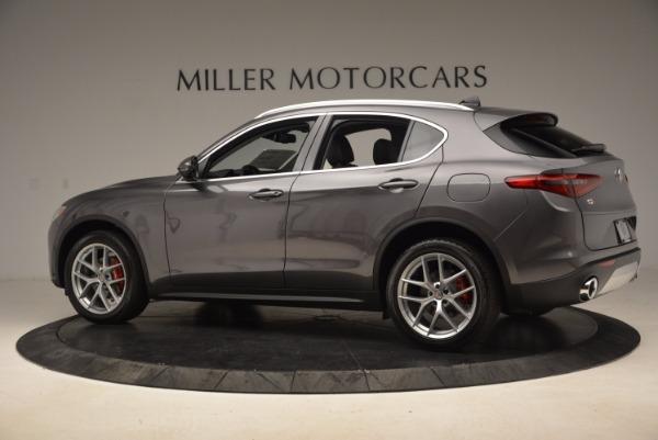 New 2018 Alfa Romeo Stelvio Q4 for sale Sold at Bentley Greenwich in Greenwich CT 06830 4