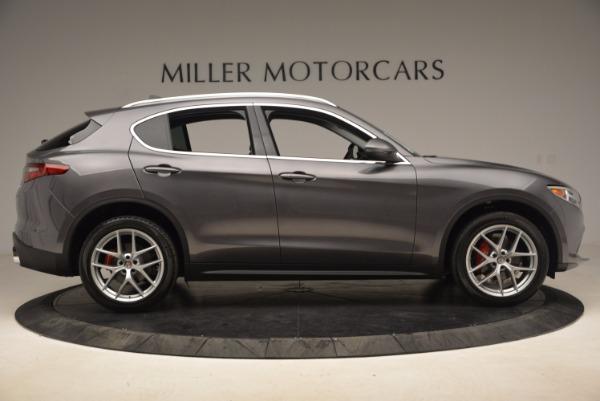 New 2018 Alfa Romeo Stelvio Q4 for sale Sold at Bentley Greenwich in Greenwich CT 06830 9
