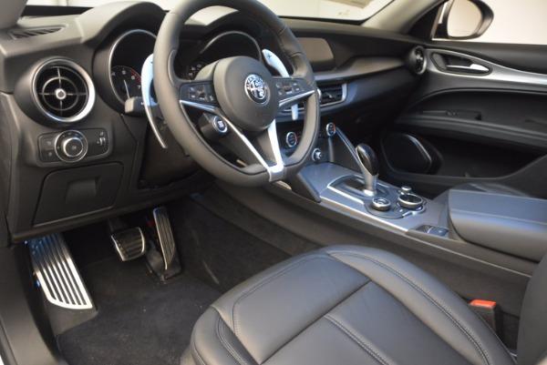New 2018 Alfa Romeo Stelvio Sport Q4 for sale Sold at Bentley Greenwich in Greenwich CT 06830 13