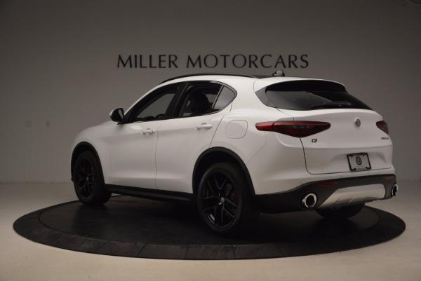 New 2018 Alfa Romeo Stelvio Sport Q4 for sale Sold at Bentley Greenwich in Greenwich CT 06830 5