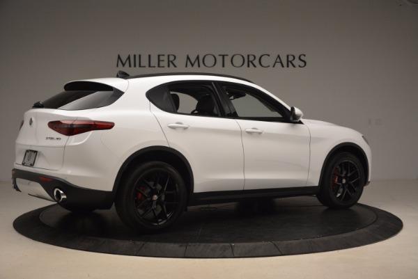 New 2018 Alfa Romeo Stelvio Sport Q4 for sale Sold at Bentley Greenwich in Greenwich CT 06830 8