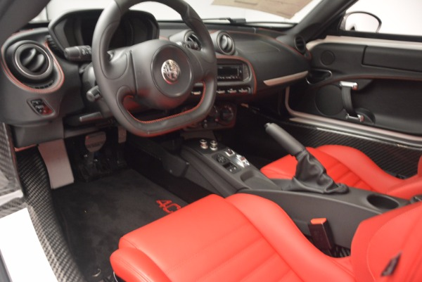 New 2018 Alfa Romeo 4C Coupe for sale Sold at Bentley Greenwich in Greenwich CT 06830 13