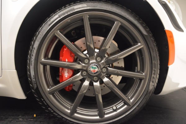 New 2018 Alfa Romeo 4C Coupe for sale Sold at Bentley Greenwich in Greenwich CT 06830 21