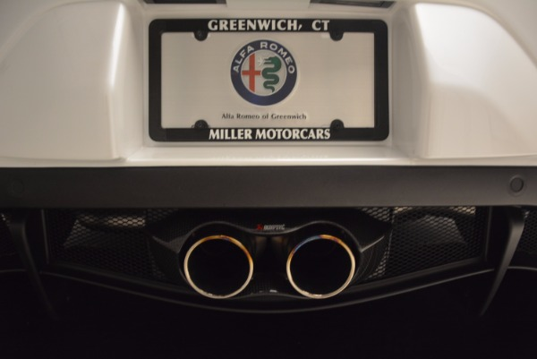 New 2018 Alfa Romeo 4C Coupe for sale Sold at Bentley Greenwich in Greenwich CT 06830 22