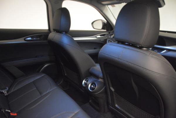 New 2018 Alfa Romeo Stelvio Sport Q4 for sale Sold at Bentley Greenwich in Greenwich CT 06830 24