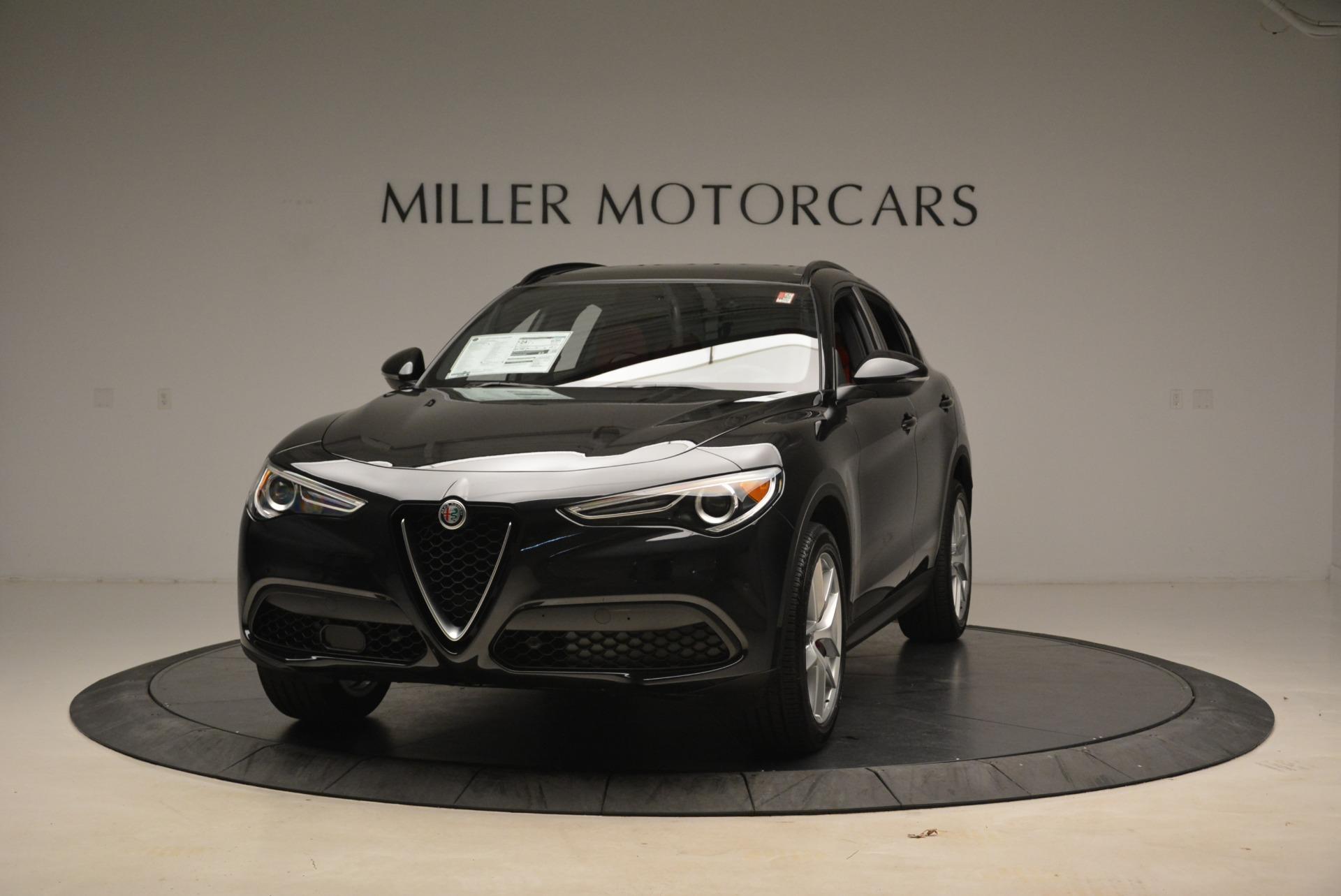 New 2018 Alfa Romeo Stelvio Sport Q4 for sale Sold at Bentley Greenwich in Greenwich CT 06830 1