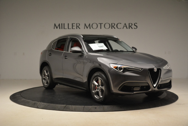 New 2018 Alfa Romeo Stelvio Q4 for sale Sold at Bentley Greenwich in Greenwich CT 06830 11