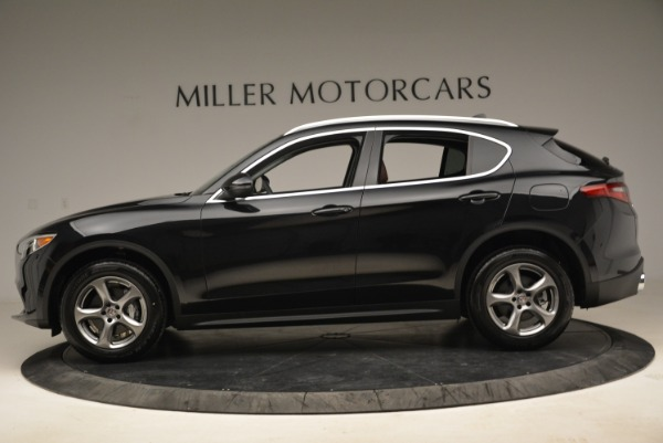 New 2018 Alfa Romeo Stelvio Q4 for sale Sold at Bentley Greenwich in Greenwich CT 06830 3
