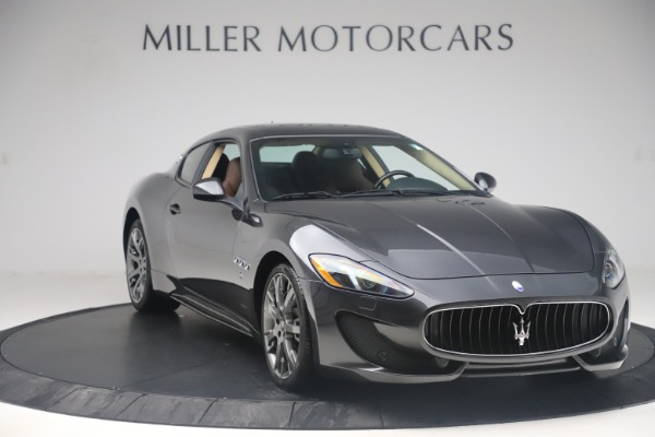 Used 2016 Maserati GranTurismo Sport for sale $64,900 at Bentley Greenwich in Greenwich CT 06830 11