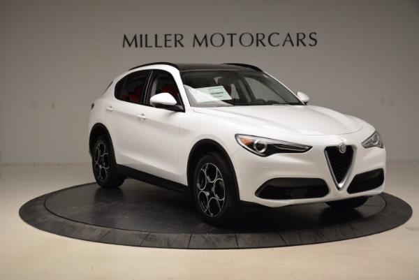 New 2018 Alfa Romeo Stelvio Sport Q4 for sale Sold at Bentley Greenwich in Greenwich CT 06830 11