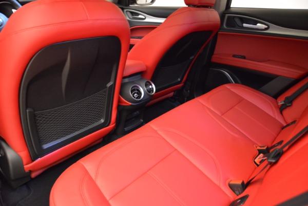 New 2018 Alfa Romeo Stelvio Sport Q4 for sale Sold at Bentley Greenwich in Greenwich CT 06830 16