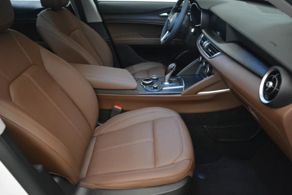 New 2018 Alfa Romeo Stelvio Q4 for sale Sold at Bentley Greenwich in Greenwich CT 06830 20